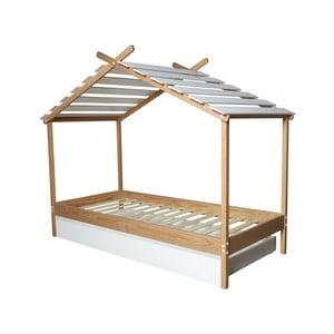 Łóżko dziecięce Marckeric Caban, 90x190 cm
