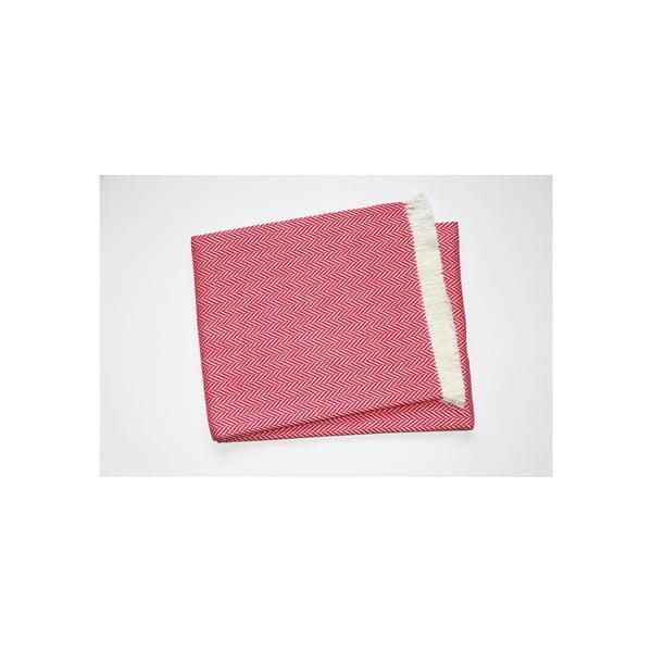 Lekki koc Skyline Fuchsia, 140x250 cm
