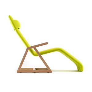 Leżak Easy Recliner Beech/Lime Punch