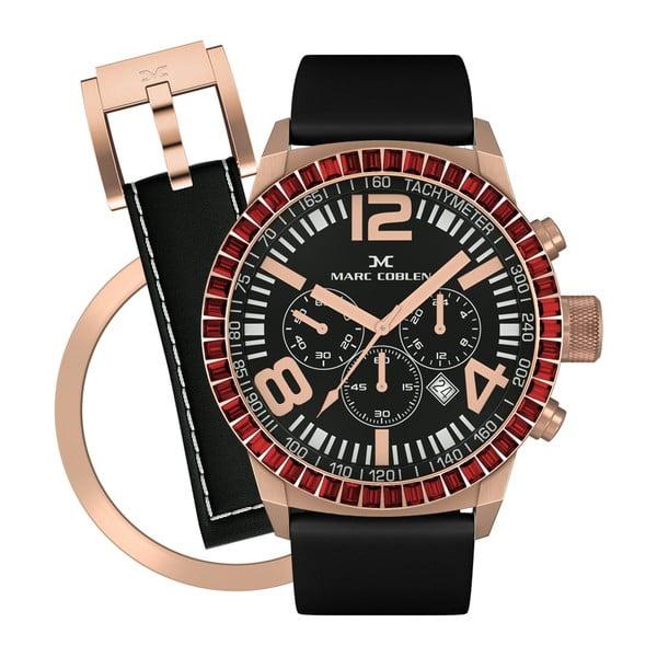 Zegarek damski Marc Coblen z dodatkowym paskiem i obręczą P83