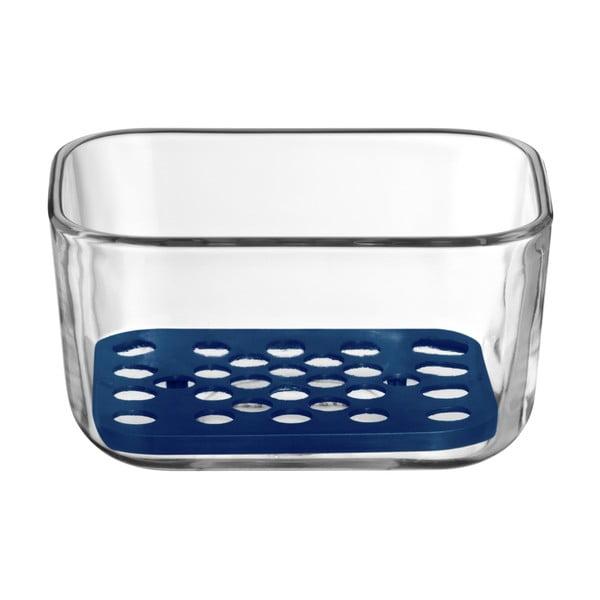 Szklana miska z podkładką WMF Cromargan® Serve, 13x10 cm