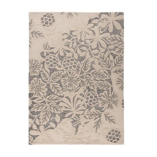Dywan wełniany Loxley, 120x170 cm, szary