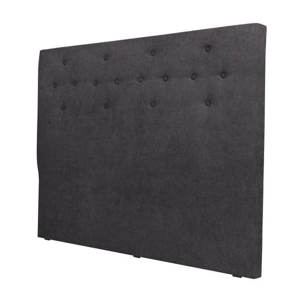 Ciemnoszary zagłówek łóżka Windsor & Co Sofas Phobos, 160x120 cm