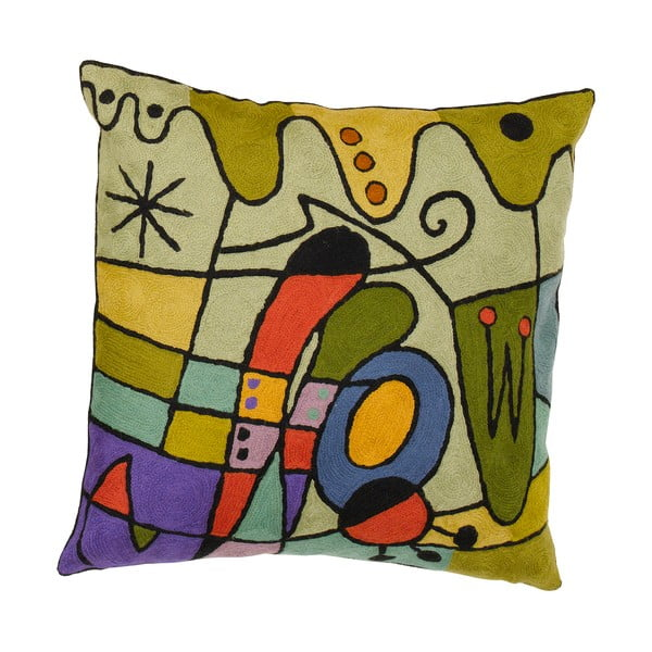 Poszewka na poduszkę Miro Carnival Purple, 45x45 cm