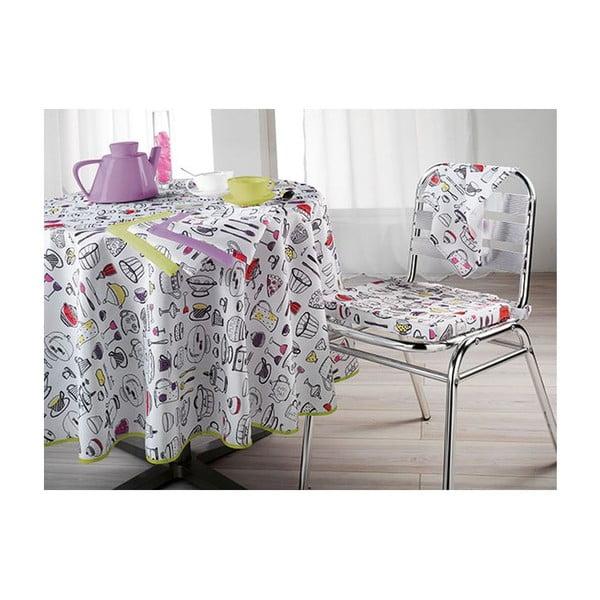 Poduszka na krzesło Lulu Morning, 40x40 cm