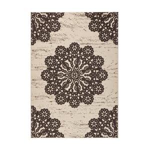 Brązowy dywan Hanse Home Gloria Lace, 80x150 cm