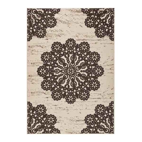 Brązowy dywan Hanse Home Gloria Lace, 120x170 cm