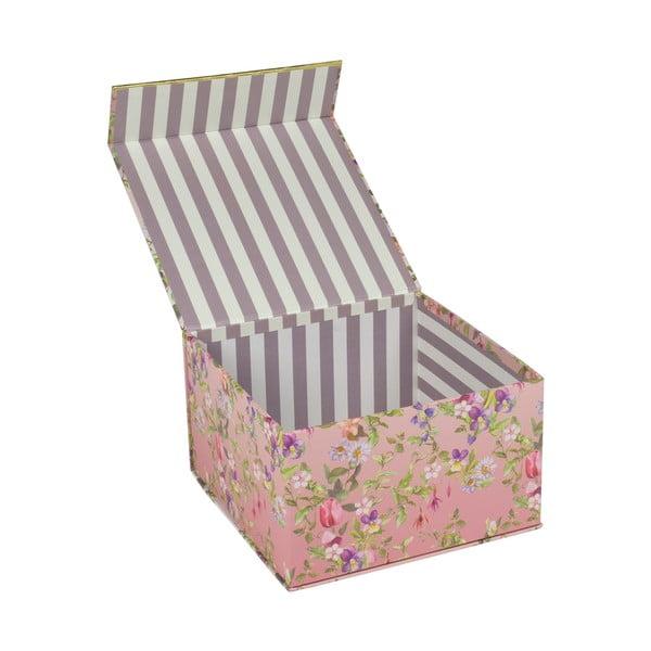 Zestaw 3 pudełek z magnetycznym zamknięciem Tri-Coastal Design Charming Garden