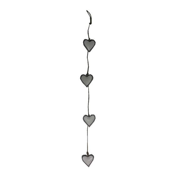 Dekoracja wisząca Antic Line Four Hearts