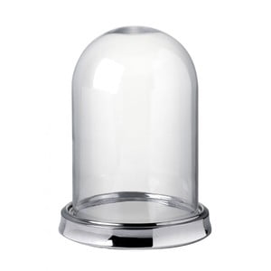 Taca ze szklanym kloszem Parlane Plate, wys. 34.5 cm