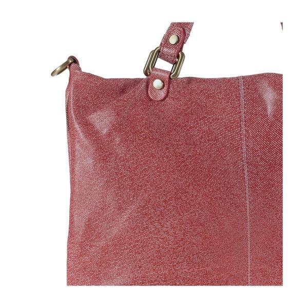 Skórzana torebka Ore Diece Affile, czerwona