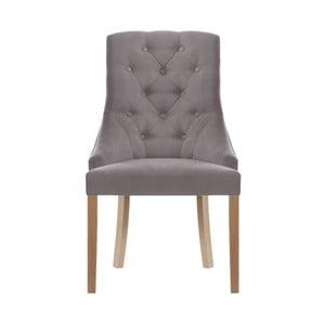 Szaroniebieskie krzesło Jalouse Maison Chiara