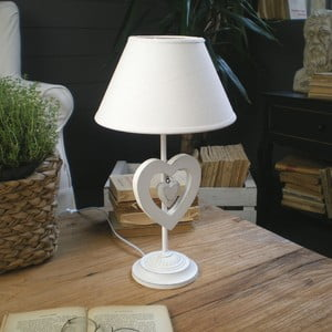 Lampa stołowa White Antique, 53 cm