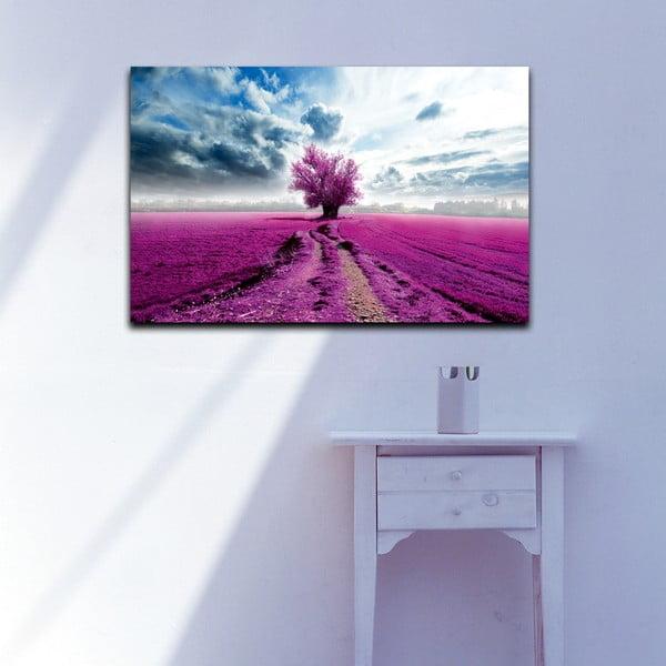 Obraz Lawendowe pole, 45x70 cm