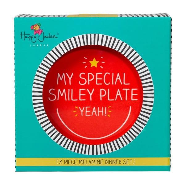 Zestaw naczyń stołowych Happy Jackson Smiley