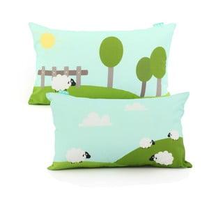Dwustronna poszewka na poduszkę Baleno Little Sheep, 50 x 30 cm