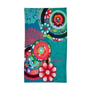 Ręcznik DESIGUAL Hand Flower, 100x150 cm