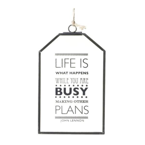 Dekoracja wisząca Life is busy