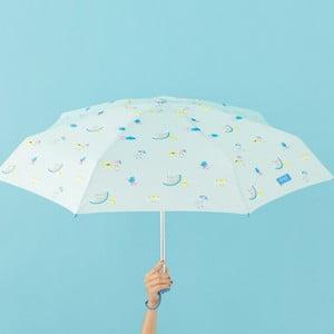 Miętowa parasolka Mr. Wonderful Cloud, szer. 108 cm