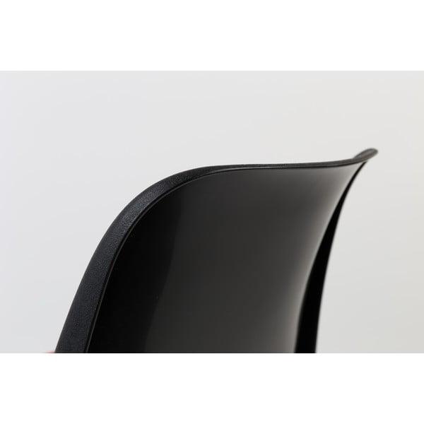 Krzesło Back to Gym, czarno-żółte