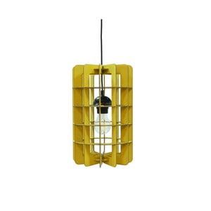 Lampa Tube, żółta