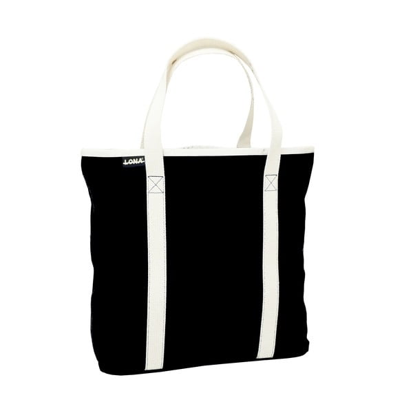 Torba płócienna Patt Bag, czarna,