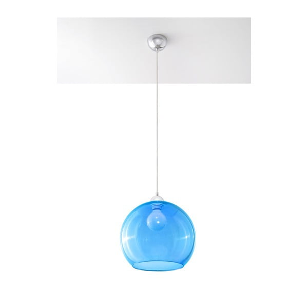 Niebieska lampa wisząca Nice Lamps Bilbao