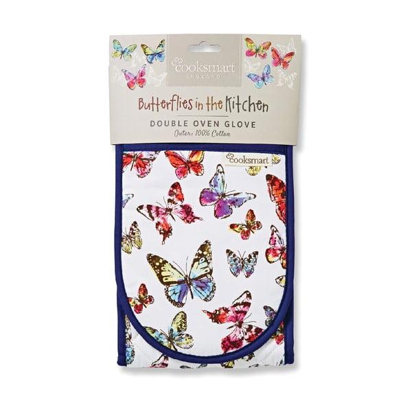 Podwójna rękawica kuchenna Cooksmart Butterfly