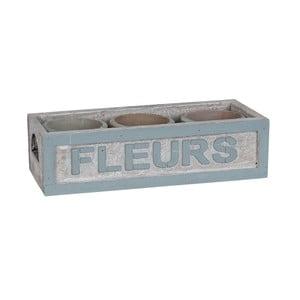Skrzynka z doniczkami Clayre & Eef Pots, 24x10 cm