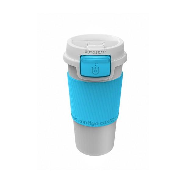 Kubek termiczny Morgan 360 ml, turkusowy