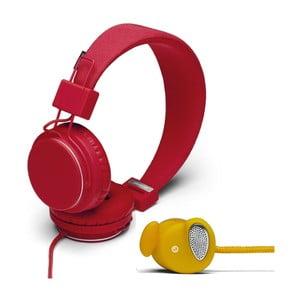 Słuchawki Plattan Tomato + słuchawki Medis Mustard GRATIS