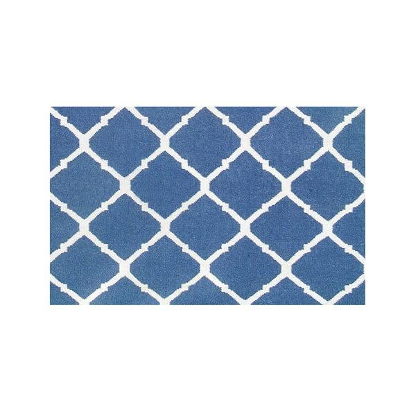 Ręcznie tkany dywan Julia Dark Blue, 155x240 cm