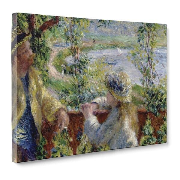 Obraz By the Water - Pierre Auguste Renoir, 50x70 cm