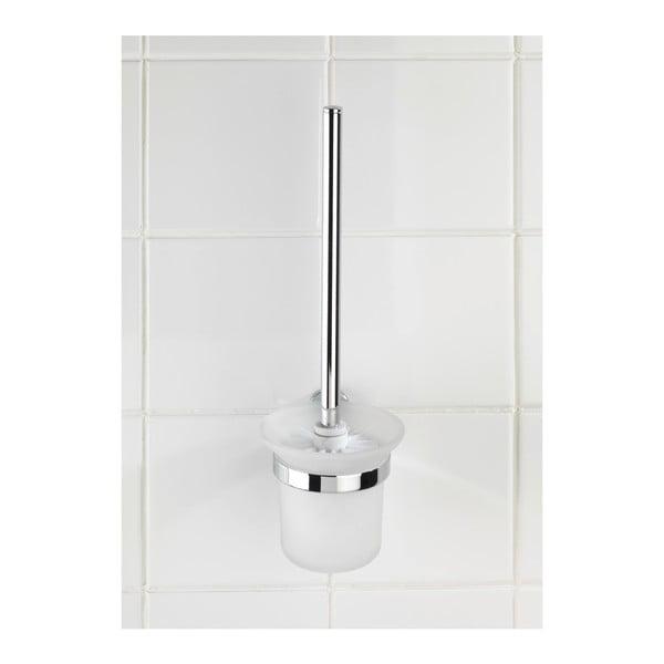 Samoprzylepny uchwyt ze szczotką toaletową Wenko Power-Loc Puerto Rico