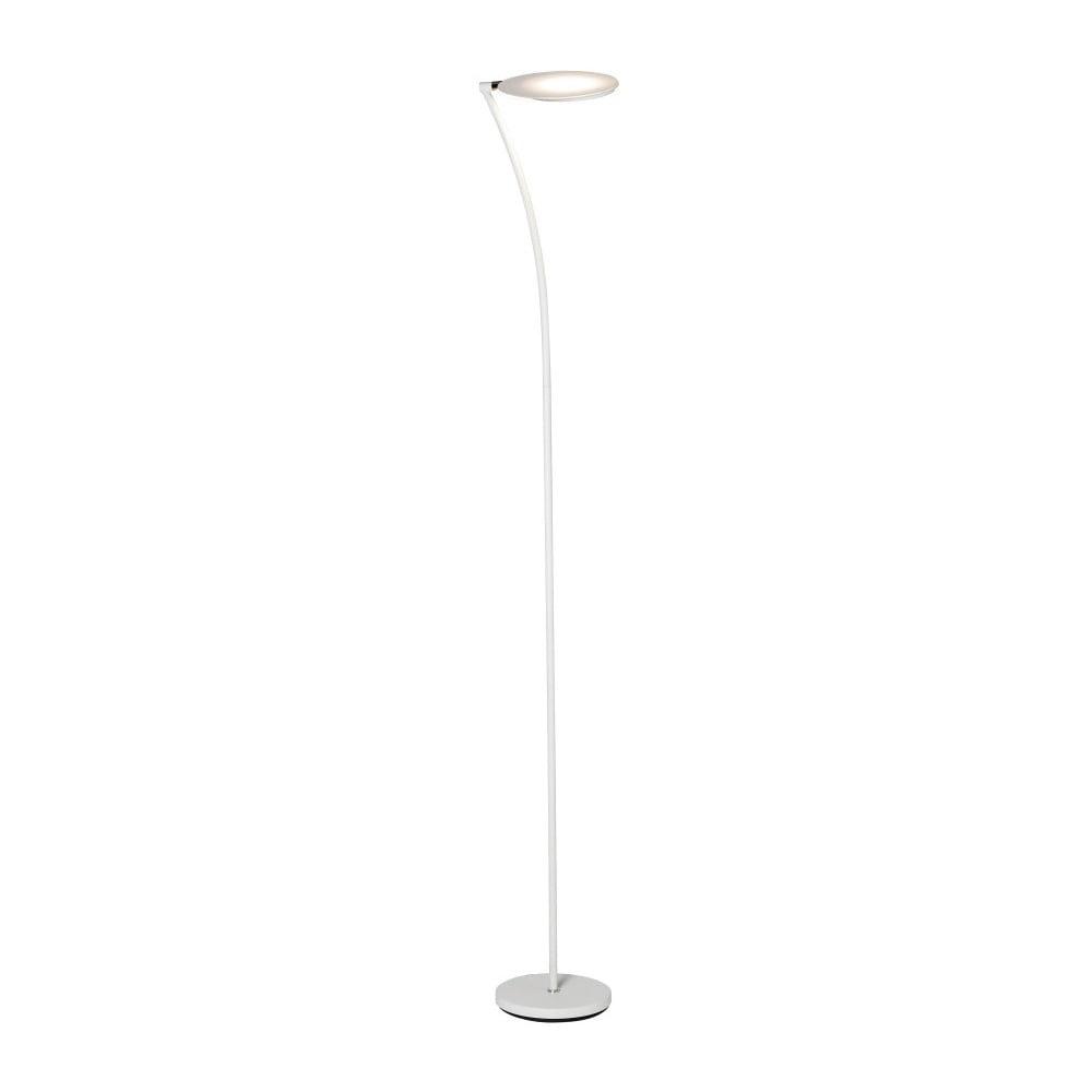 Biała lampa stojąca z regulacją wysokości SULION Dordona