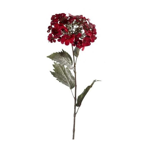Sztuczny kwiat Hortensja, ciemnoczerowna