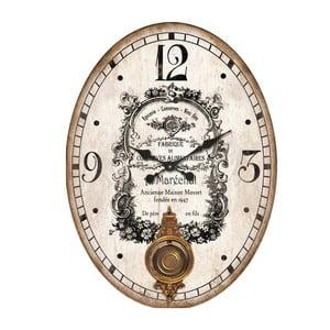Zegar Antic Line Bois Pendulum, 43x58 cm