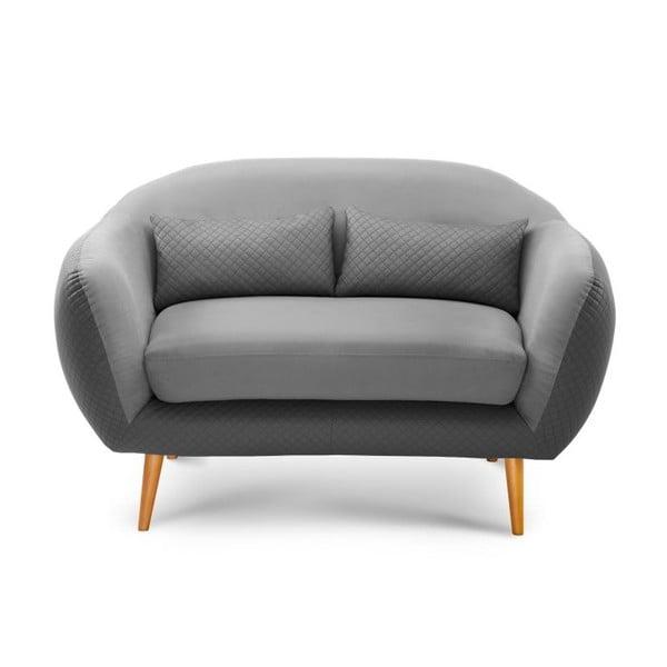 Sofa 2-osobowa Meteore Grey/Light Grey
