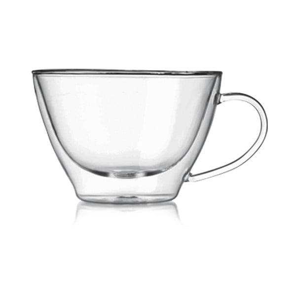 Zestaw 2 szklanek z podwójną ścianką Bredemeijer Cappucino, 385 ml