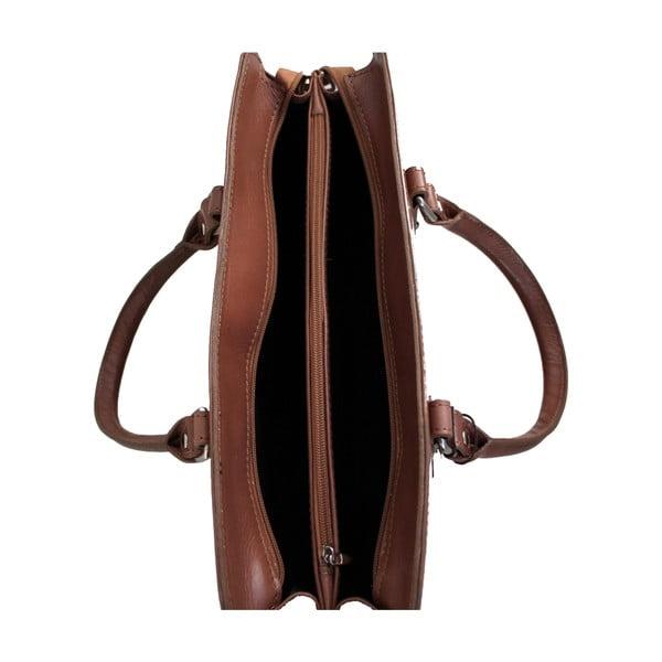 Skórzana torba Grechetto, beżowa