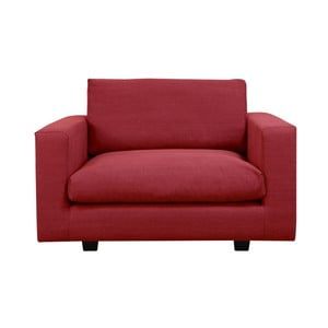 Czerwony fotel Helga Interiors Fritz