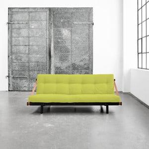Wielofunkcyjna sofa Karup Jump Black/Pistacie