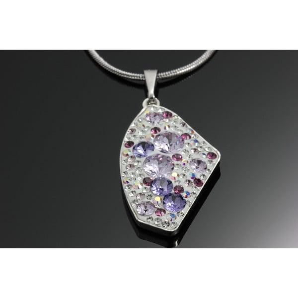 Naszyjnik Swarovski Elements Violet
