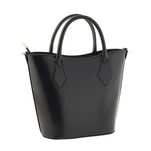 Skórzana torebka Teggie Dark
