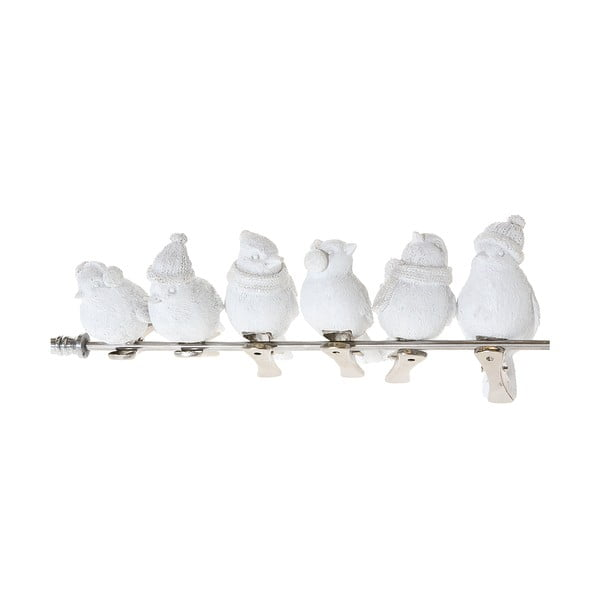 Zestaw 6 dekoracyjnych gołąbków Bird Dove