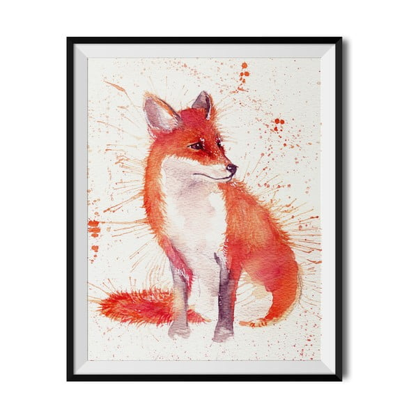 Plakat Wraptious Splatter Fox