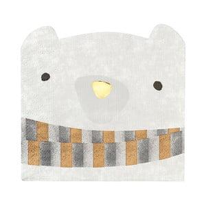 Zestaw 16 serwetek w kształcie niedźwiadka Talking Tables Bear