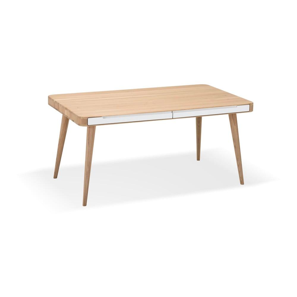 Stół z drewna dębowego Gazzda Ena Two, 160 x 90 cm