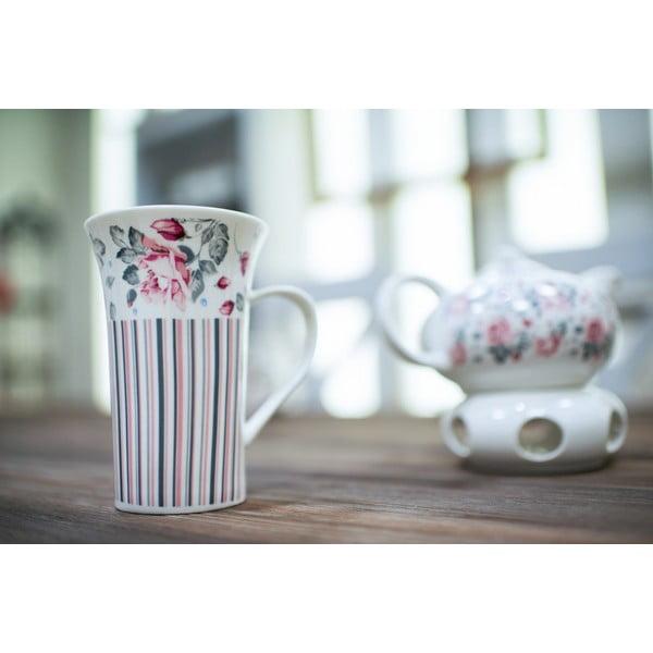 Kubek porcelanowy Różyczka, 400 ml