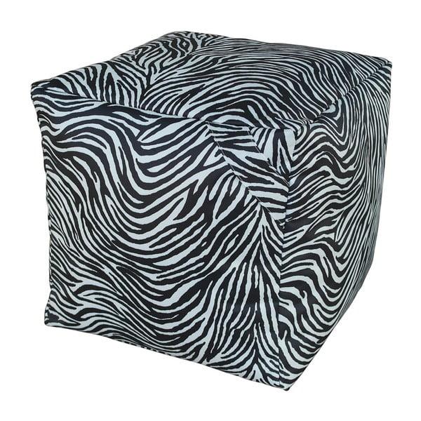 Czarno-biały puf 13Casa Zebra
